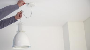 Lamp Ophangen Draden