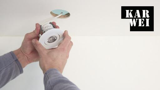 LED inbouwspots plaatsen? Bekijk de klusvideo | KARWEI