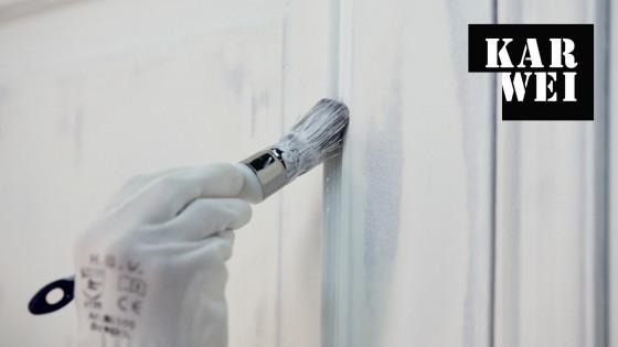 Binnen houtwerk schilderen bekijk de klusvideo karwei