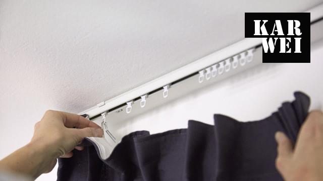 Wonderbaarlijk Gordijnen ophangen? Bekijk de klusvideo | Karwei GM-98