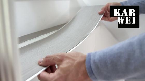 Plak Pvc Tegels : Trap renoveren met pvc vloerdelen bekijk de video karwei