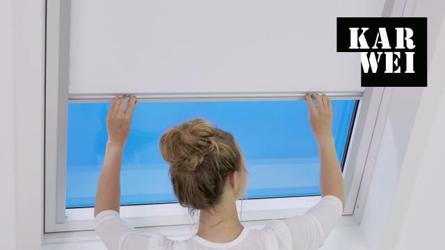 Zolderraam Gordijn 7 : Dakraam rolgordijn monteren bekijk de video karwei