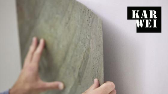 Natuursteen fineer op de muur bekijk de video karwei