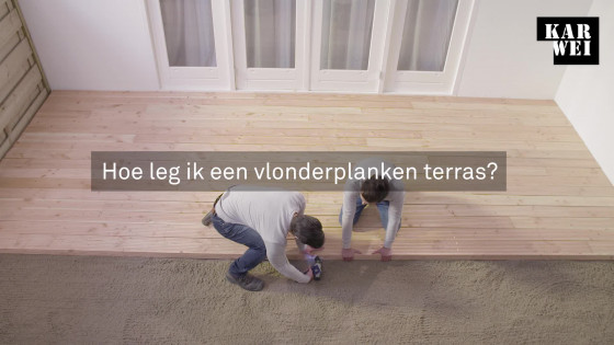 Balkon Tegels Gamma : Vlonderplanken leggen? bekijk de klusvideo karwei